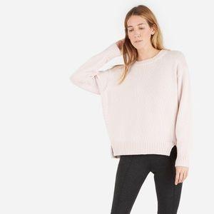 Everlane Chunky Knit Cotton Crew Sweater